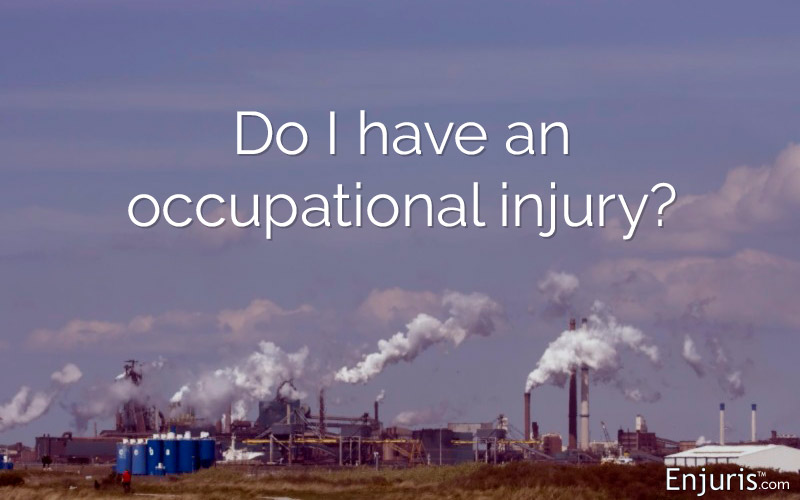 Occupational disease/injury
