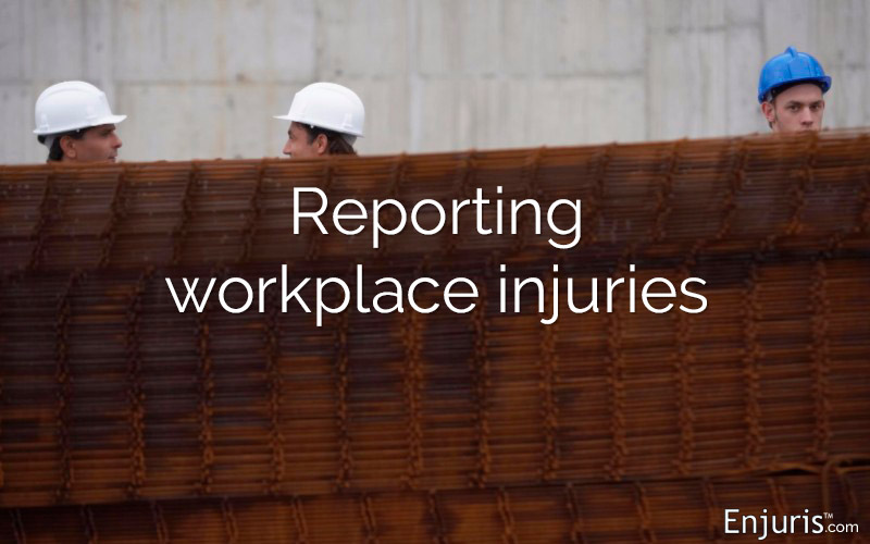 reporting workplace injuries
