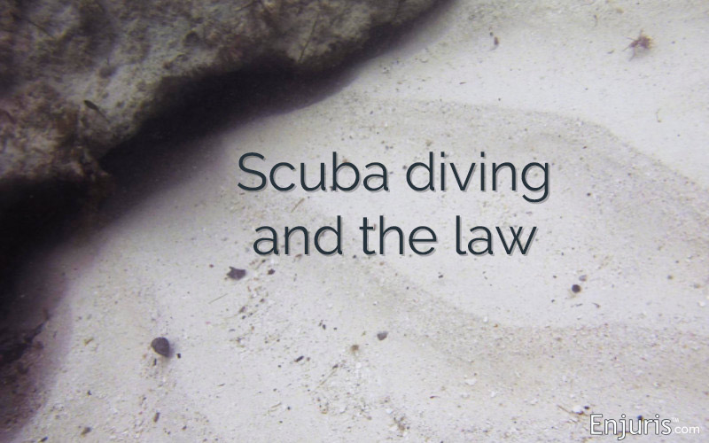 scuba diving and lawsuits, wrongful death