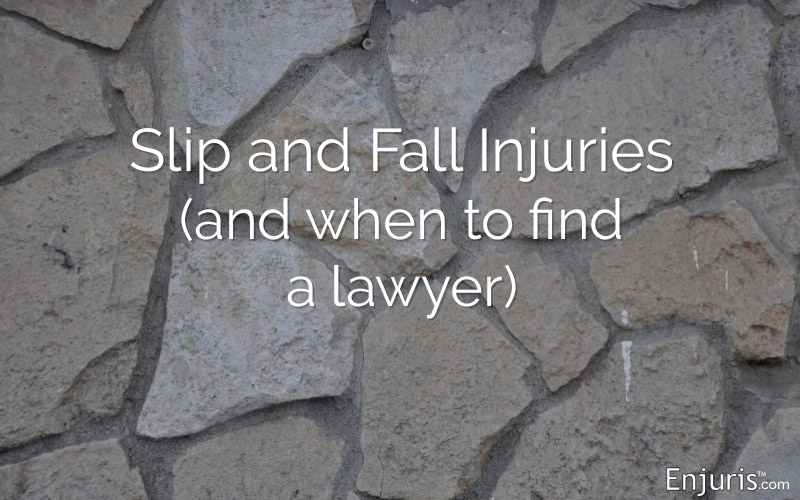 Slip and Fall statistics (plus when to find a lawyer)