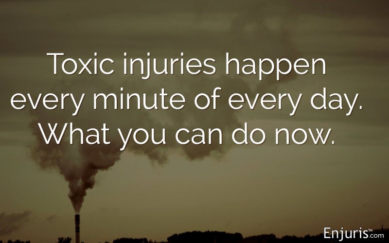 toxic injuries, pollution