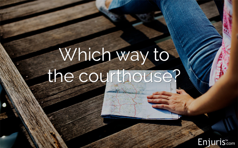 The proper court in which to start your personal injury lawsuit