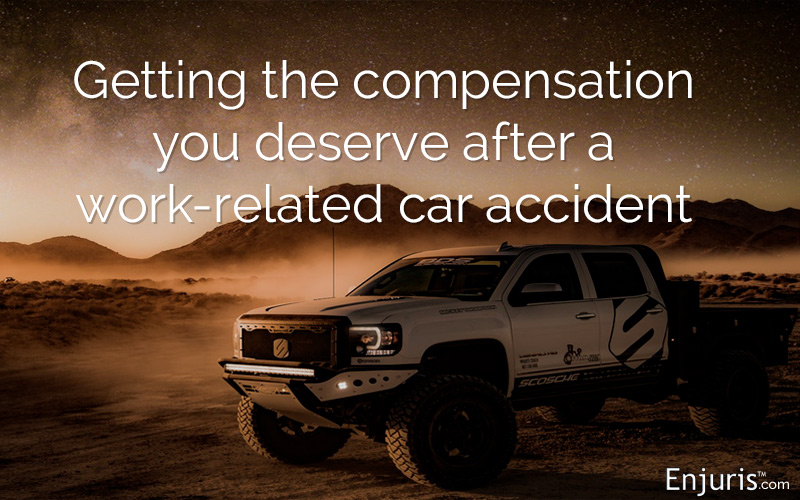Arizona work-related car accidents and workers' compensation