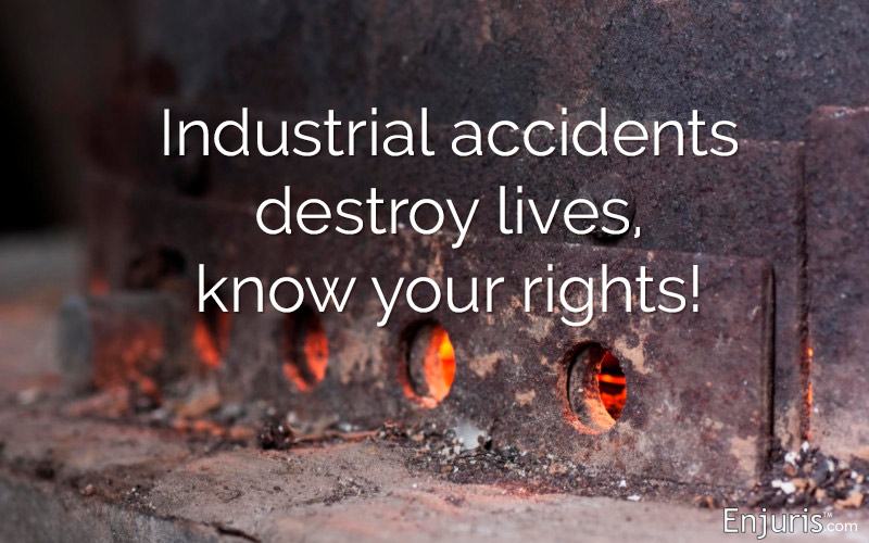 manufacturing plants, industrial accidents, workplace accidents