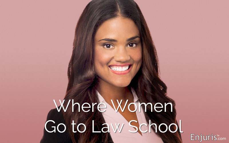 Where women go to law school