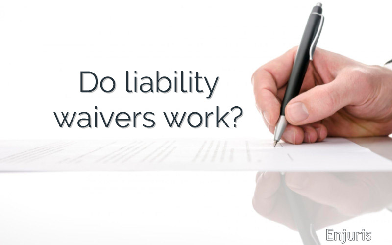 contract sign liability waiver