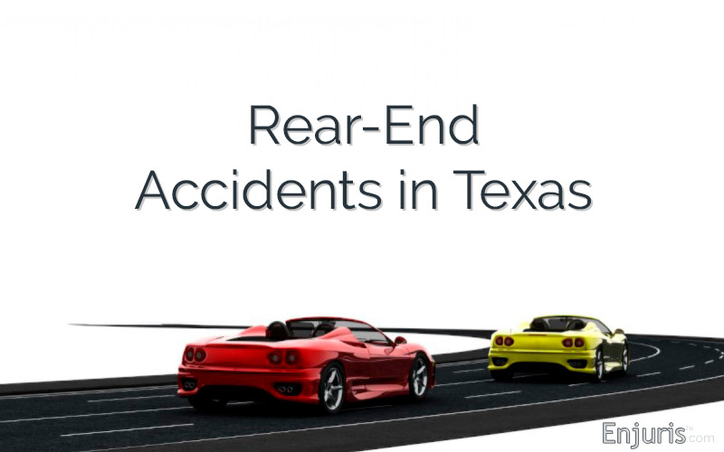 Accidentes traseros en Texas
