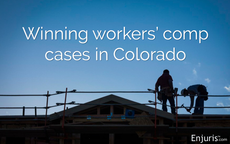 Winning workers' comp cases in Colorado