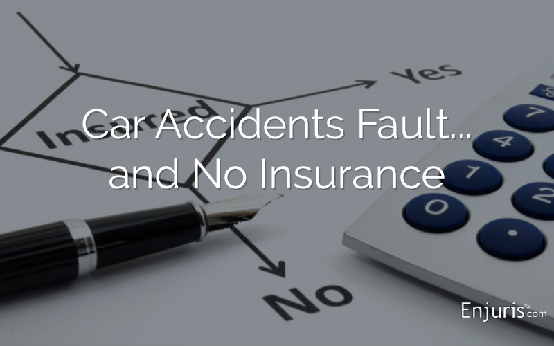 Uninsured Car Accidents - from Enjuris.com, a personal injury attorney directory