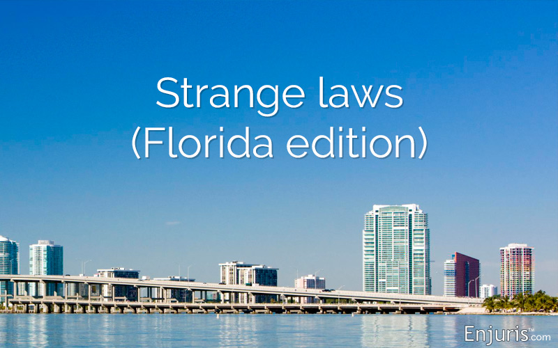 Florida's weird laws