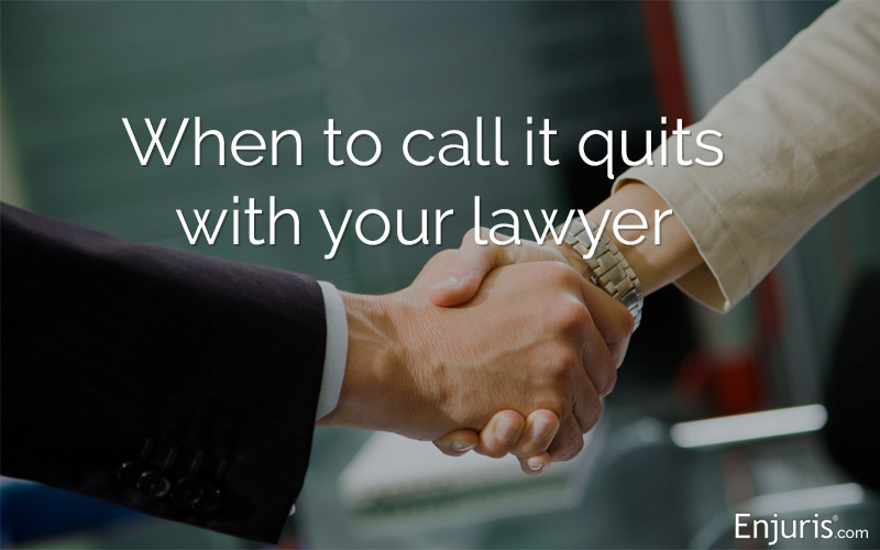 reasons to fire your attorney
