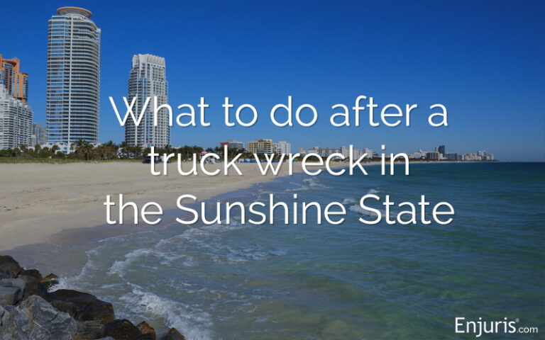 What to do after a Florida truck accident