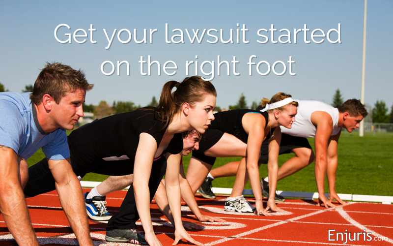 how to prepare for lawsuit