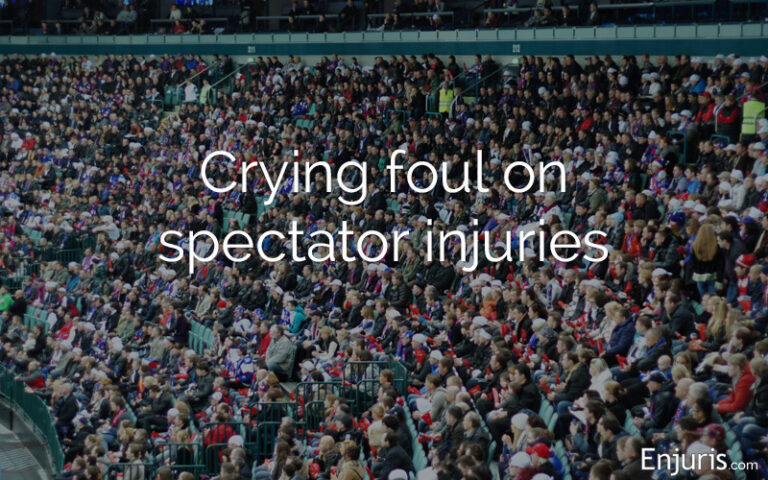 fan injuries at sporting events
