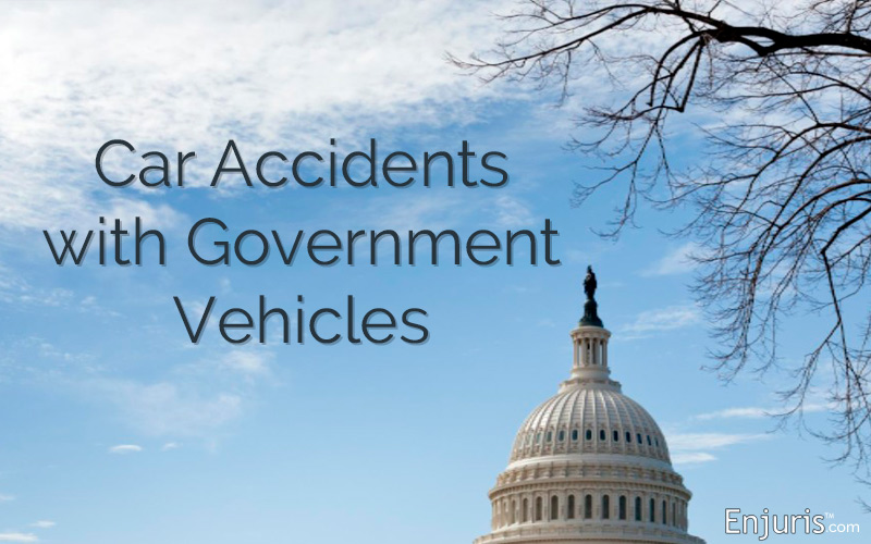 Car Accident With Government Vehicle? How to Sue for Damages