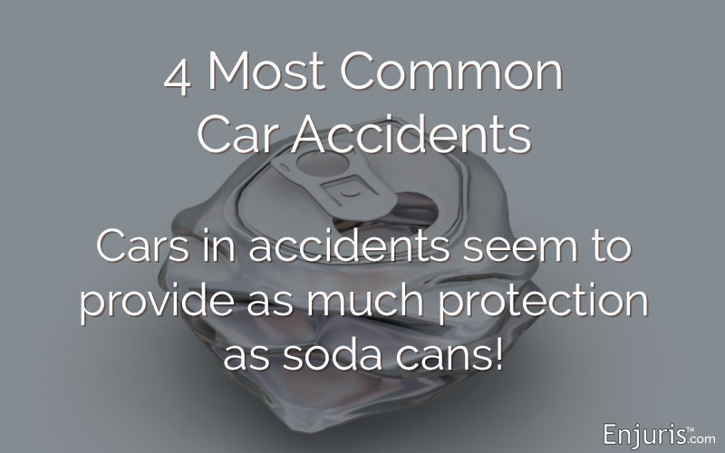 car accidents soda cans