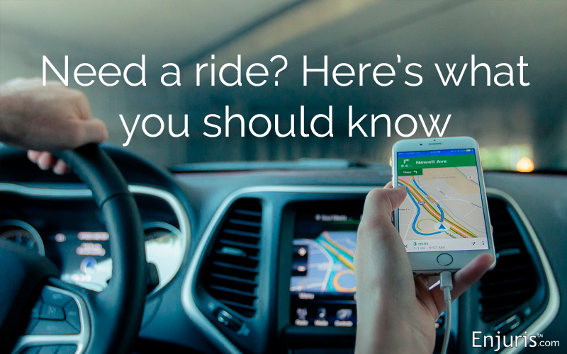 Rideshare liability and insurance requirements
