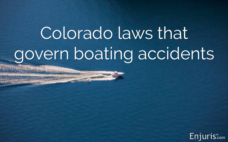 boating admiralty maritime law in Colorado