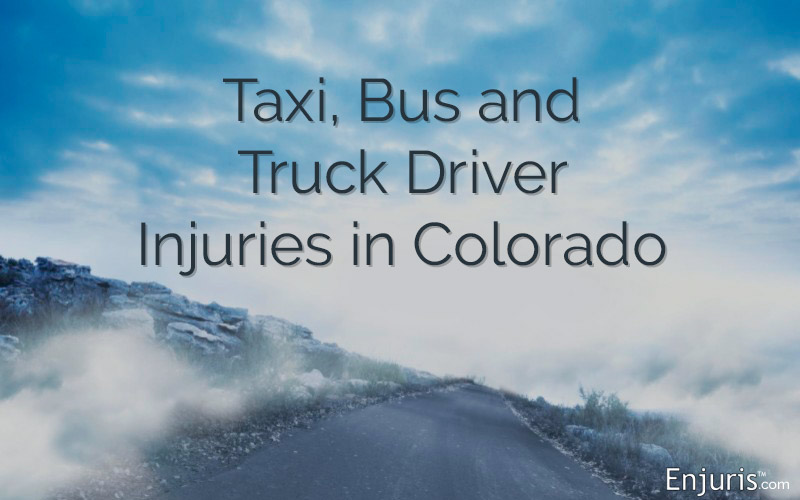 Taxi, Bus and Truck Driver Injuries in Colorado