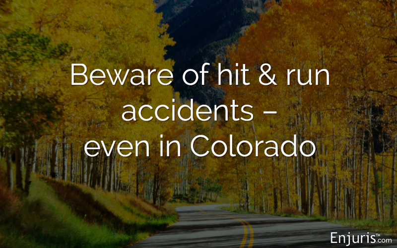 hit and run road Colorado