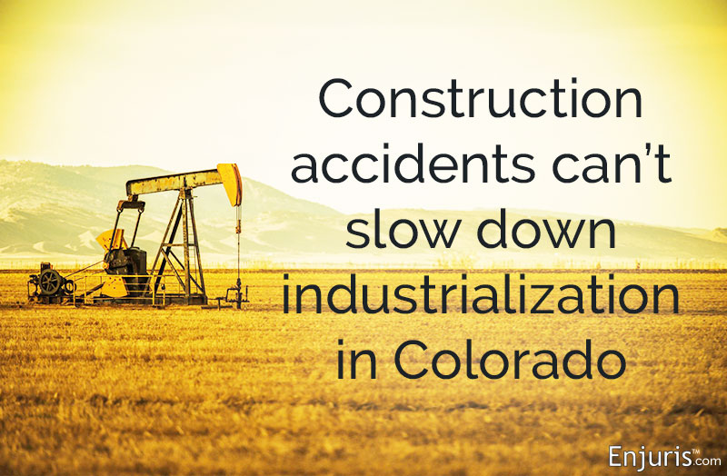 Construction accidents can't slow down industrialization in Colorado