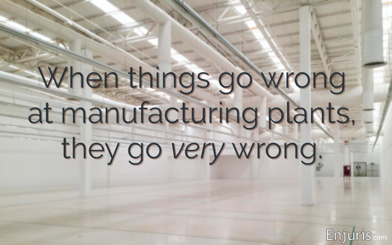 Colorado manufacturing plant injuries