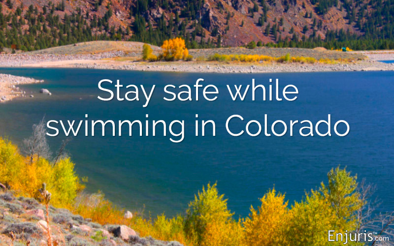Stay safe while swimming in Colorado