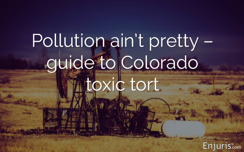pollution, toxic tort