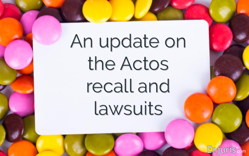 Actos Lawsuits - from Enjuris.com, a personal injury attorney directory