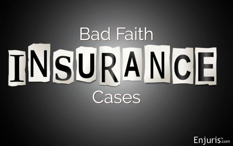 bad faith insurance claims Florida
