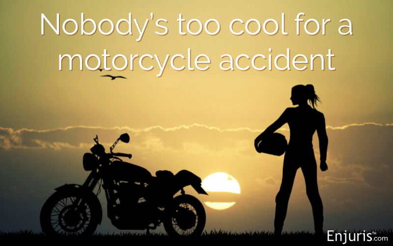 girl motorcyclist accident Florida