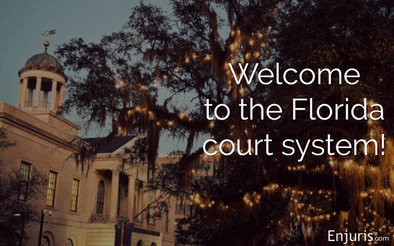 Florida personal injury court system