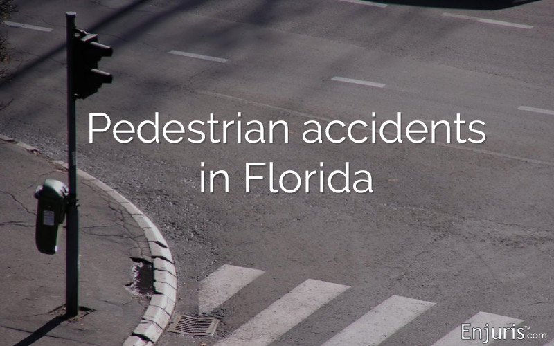 Pedestrian accidents in Florida