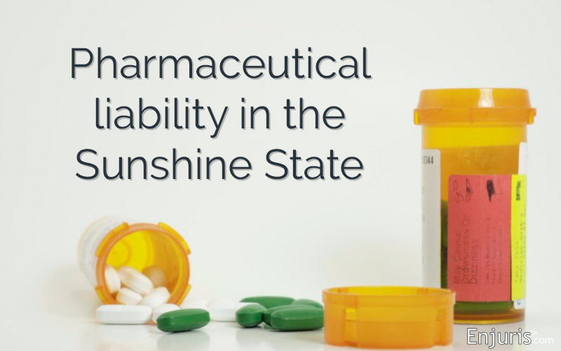 Pharmaceutical liability in Florida