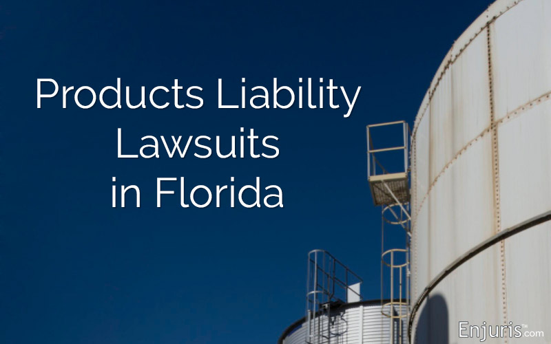 Products Liability Lawsuits in Florida