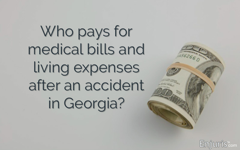 Covering medical bills in Georgia - from Enjuris.com, a personal injury attorney directory