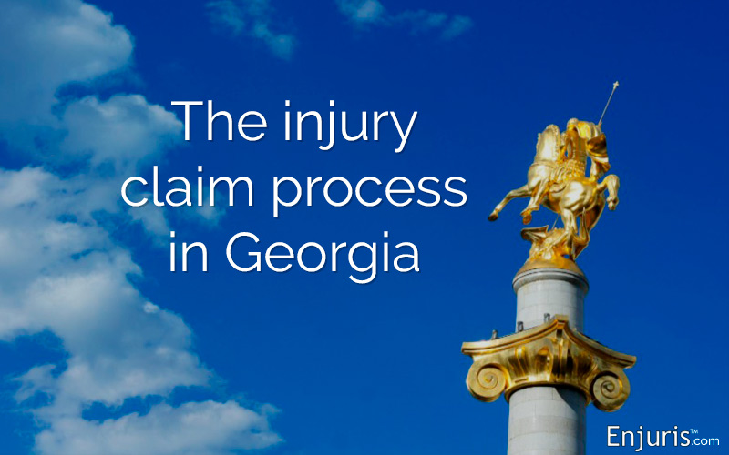 Georgia's injury claim process - from Enjuris.com, a personal injury attorney directory