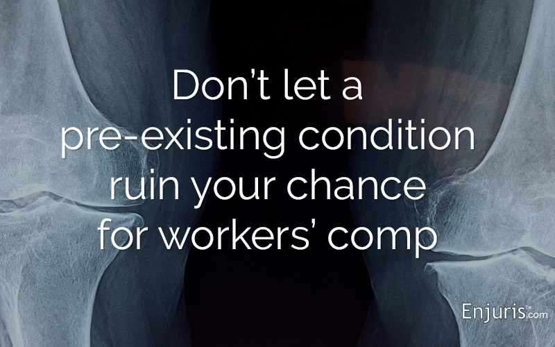 Guide to Pre-Existing Conditions in Workers' Comp Claims