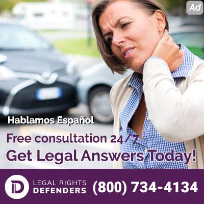 Accidente automovilístico y necesita un abogado? Llame al 800-734-4134.