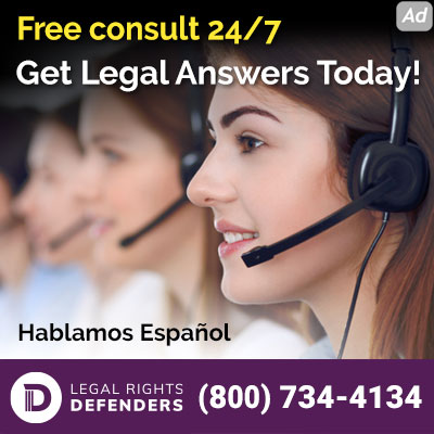 Representatives answer calls for attorney services. Dial 800-734-4134