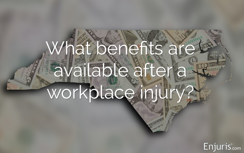 North Carolina workers compensation benefits