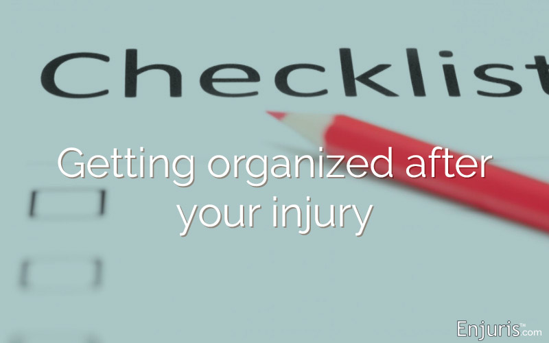 Checklist of Documents: Personal Injury Basics