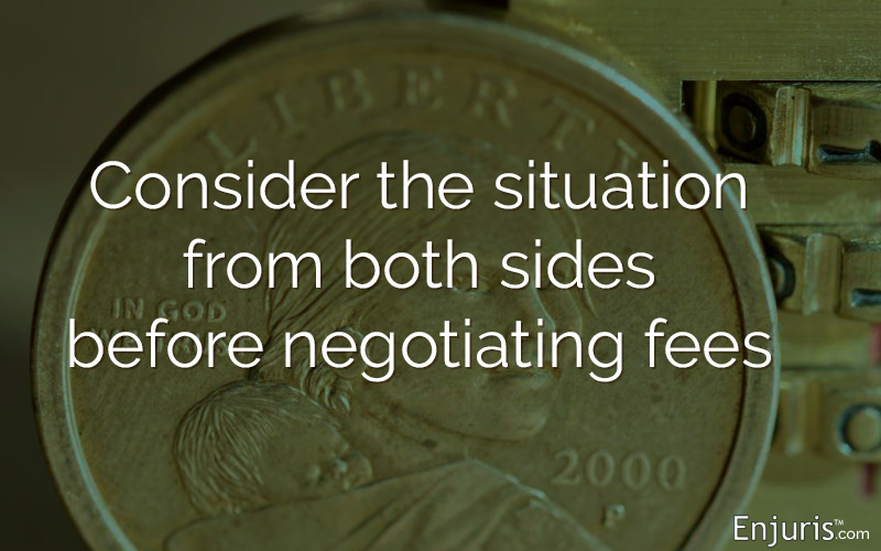 Negotiating Accident Lawyer Fees Cost Percentage Charges
