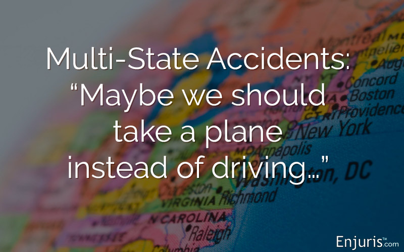 "Diversity Jurisdiction, Multi-State Accidents: ""Maybe we should take a plane instead of driving…"""