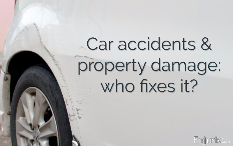 Car Accident Property Damage Claims & When to Lawyer Up