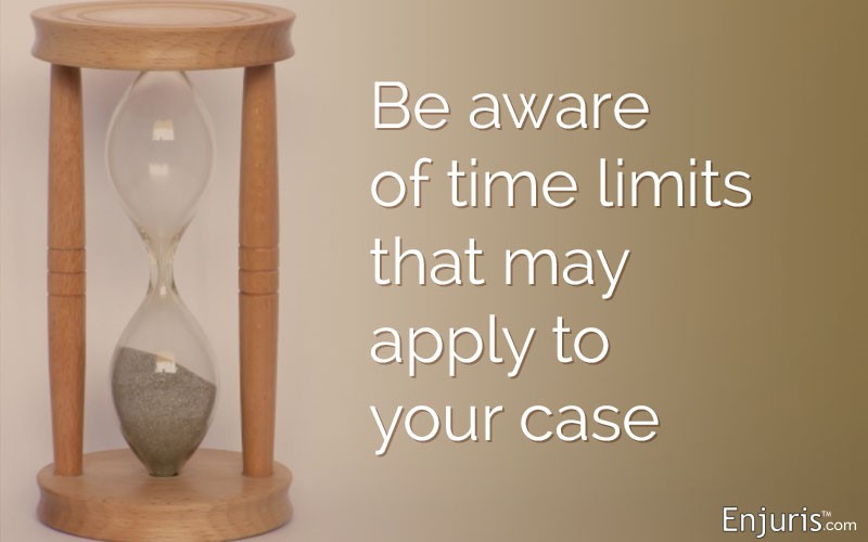Is time ticking on your personal injury case?