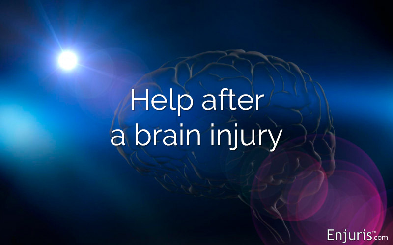 Help after a brain injury