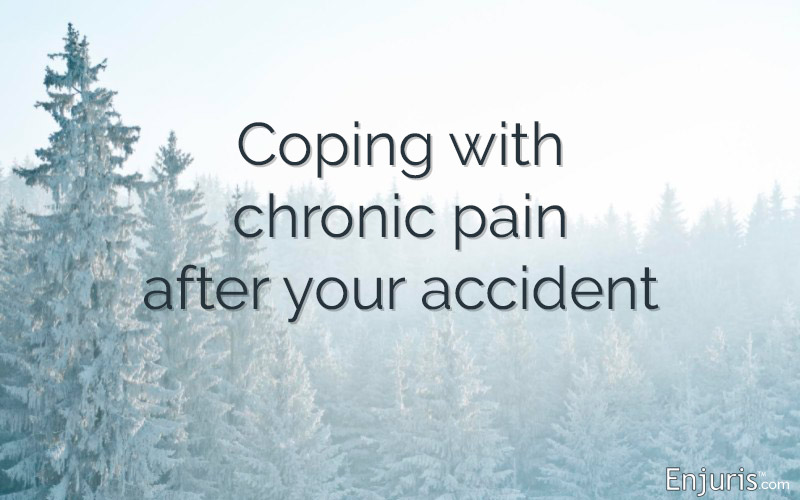 Coping with chronic pain after your accident