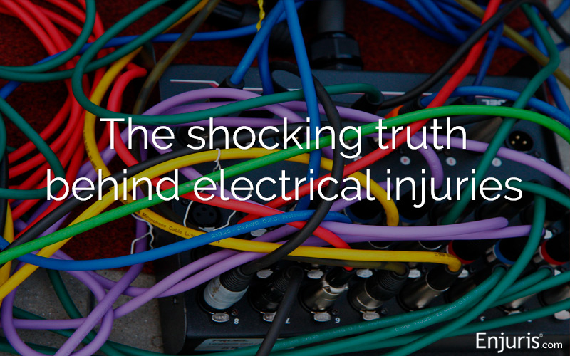 Electrocution and electrical shock injuries