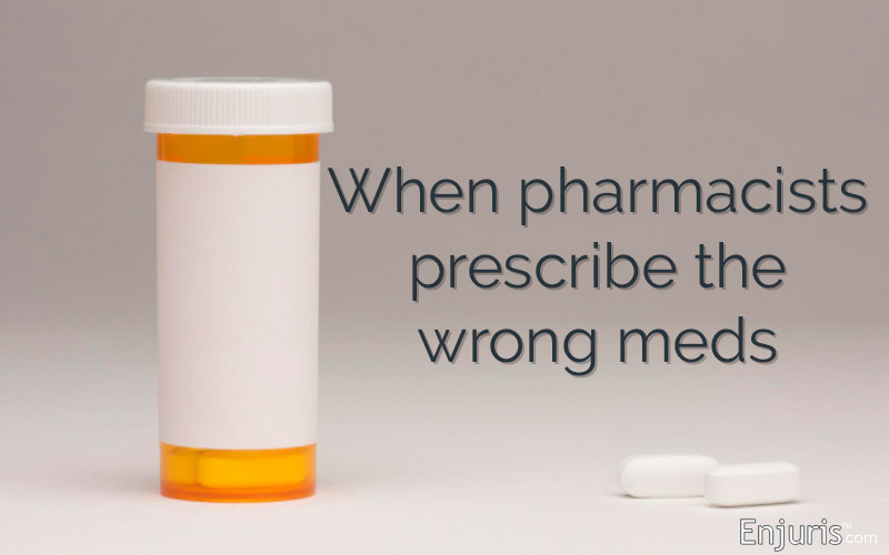 Pharmacy error: When pharmacists prescribe the wrong meds